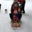 Sledding at Wilderness Bay Lodge and Resort