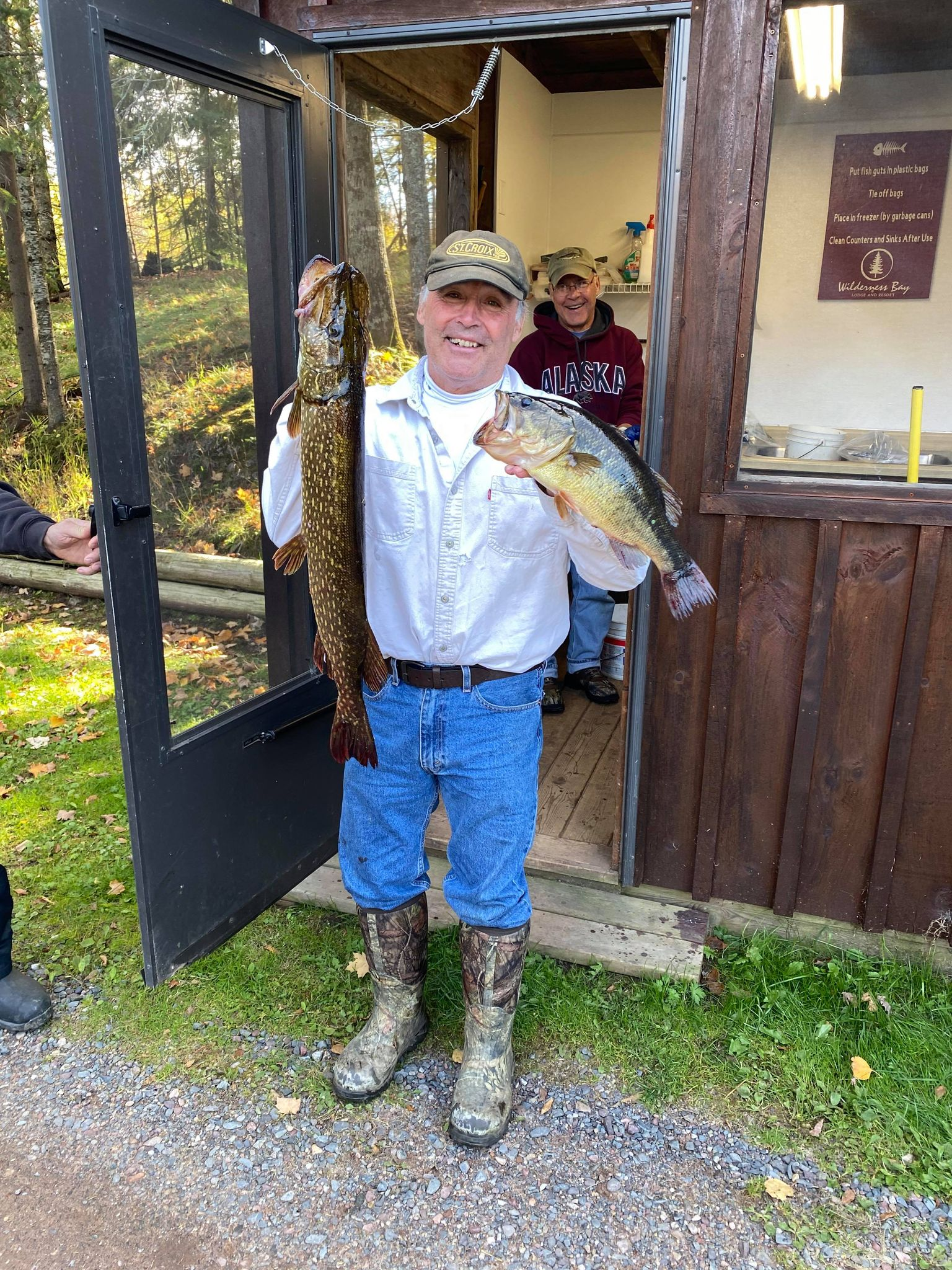 wilderness bay lodge and resort fishing the cisco chain northwoods resort